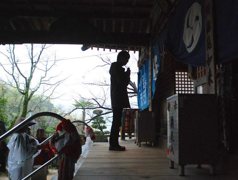 栄福寺 お参り1