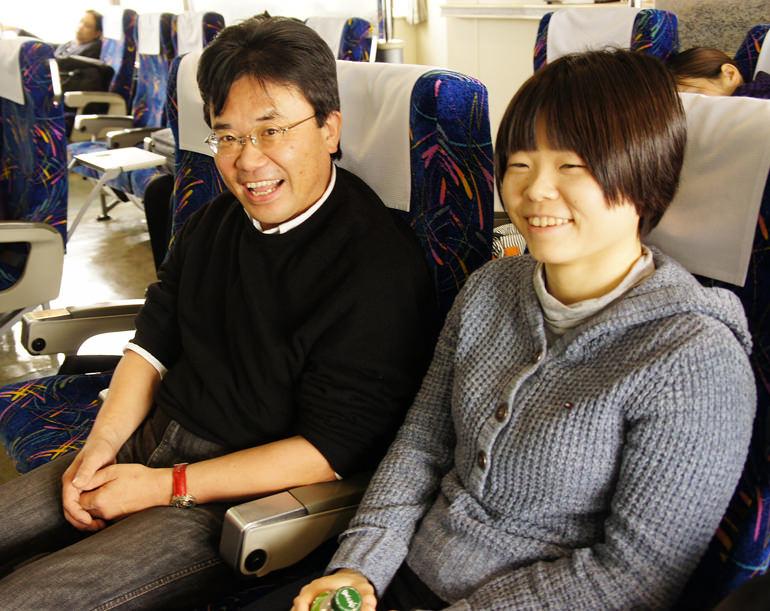 島田さんと芝さん