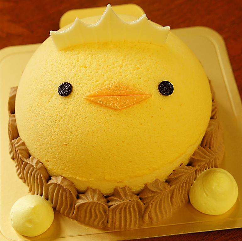バリィさんケーキ
